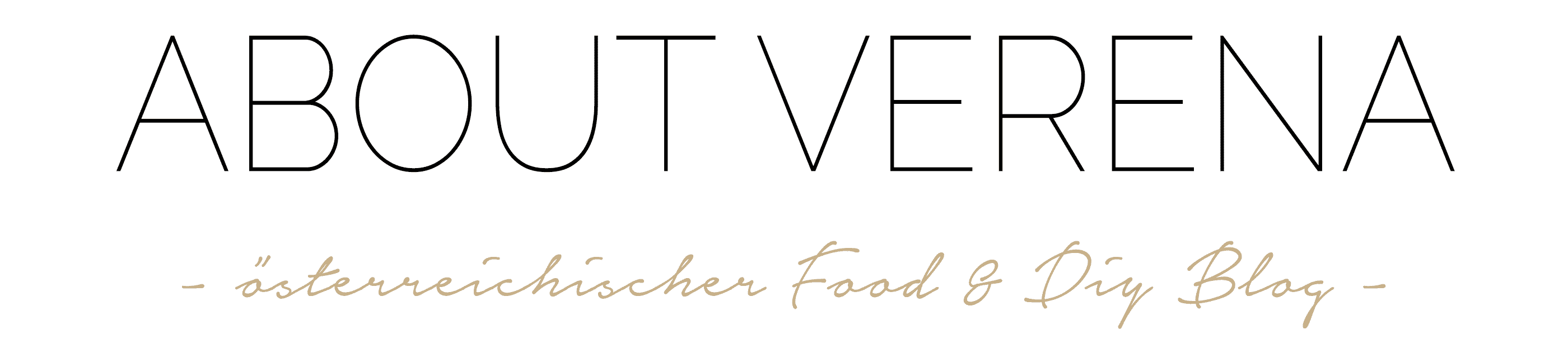 ABOUT VERENA: Food- und DIY-Blog